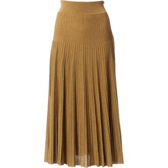 Barbara Casasola Gold Skirt for Women