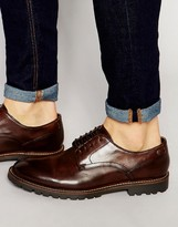 Base London Barrage Leather Derby Shoes
