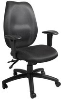 Boss Office Products Boss High-Back Multi-Tilter Office Chair With Adjustable Arms