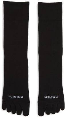 Balenciaga Logo Toe Socks