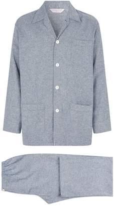 Derek Rose Kelburn Cotton Pyjama Set