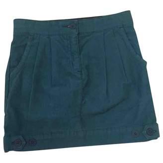 Stella McCartney Turquoise Polyester Skirts