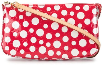 Louis Vuitton x Yayoi Kusama 2012 pre-owned Vernis Dot Infinity pouch