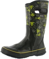 Bogs Boys' Frogs Tall Rain Boot 12 M US