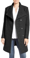 Kenneth Cole New York Women's Pressed Boucle Coat