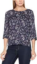 Tom Tailor Women's Comfortable Printed Tunic Blouse,(Manufacturer Size: X-Small)