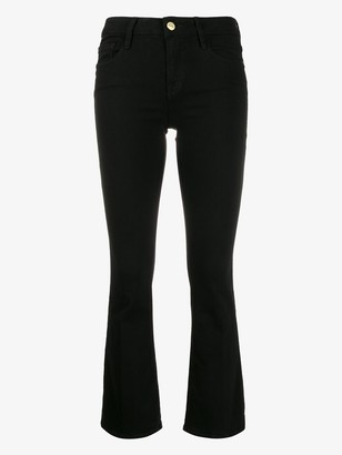 Frame Slim-Fit Cropped Jeans
