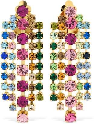 Ca&Lou Teodora Multicolor Crystal Earrings