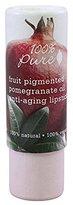 100% Pure pomegranate lipsticks 1 count