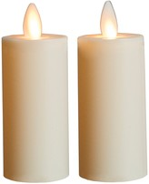 Boston Warehouse Ivory Flameless 3 Votive Candle - Set of 2