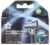 Superdrug Five Blade Razor Refills