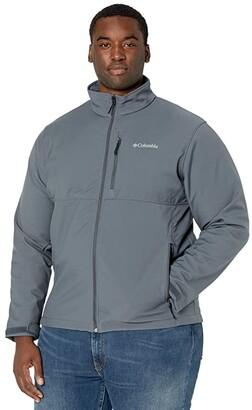 Columbia Big Tall Ascender Softshell Jacket (Graphite) Men's Coat