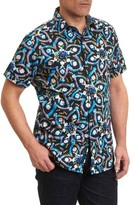 Robert Graham Men's Halder Print Sport Shirt