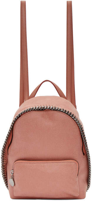 Stella McCartney Pink Small Falabella Backpack