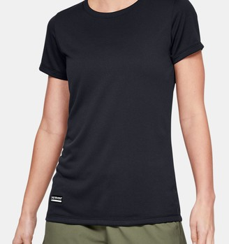 Under Armour Women's UA Tactical Tech Short Sleeve