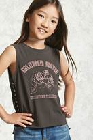 Forever 21 FOREVER 21+ Girls Graphic Tank Top (Kids)