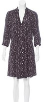 Band Of Outsiders Silk Shirt Dress