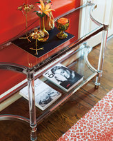 Bernhardt Salon Stainless Steel Console Table