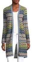 M Missoni Wave Ripple Knit Cardigan