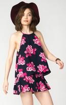 MUMU Selena Top ~ Midnight Rose