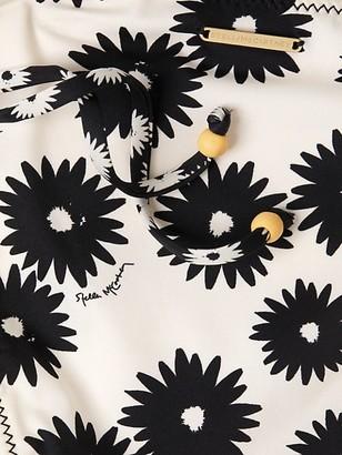 Stella McCartney Swim Floral-Print Tie Side Bikini Bottom