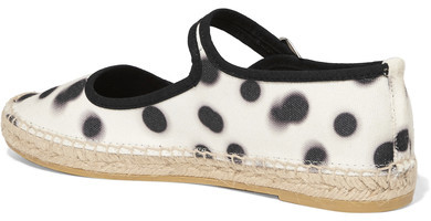Marc by Marc Jacobs Printed Canvas Espadrilles