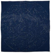 Haptic Lab Queen Constellation Cotton Quilt - Navy
