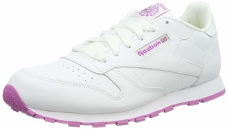 Reebok Girls Classic Leather Low-Top Sneakers