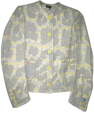 Meadham Kirchhoff Blue Synthetic Jackets