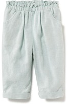 Old Navy Linen-Blend Pull-On Pants for Toddler