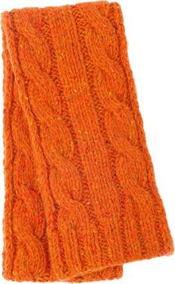 Prada Cable Knit Scarf