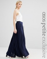 Asos Pleated Wide Leg Pant