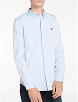 Ps By Paul Smith Tailored Fit Oxford Shirt, Sky