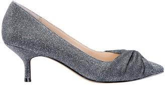 Nina Footwear Sparkle Low-Heel Pumps w/ Knot Detail - Tamlyn