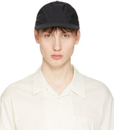 Undecorated Man Black Panelled Cap