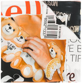 Moschino Toy Bear Magazine scarf