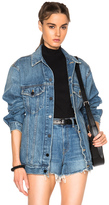 Alexander Wang Daze Oversized Jacket in Denim Medium.