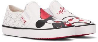 Geox Kids x Disney Mickey Mouse & Friends slip-on sneakers