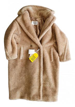 Max Mara Gold Faux fur Coats