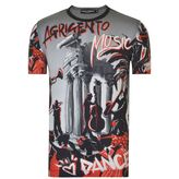 Dolce And Gabbana Agrigento Print T Shirt