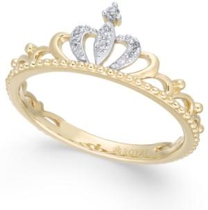 Macy's Diamond Tiara Ring (1/20 ct. t.w.) in 14k Gold