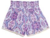 Vintage Havana Girls' Smock Waist Shorts - Big Kid