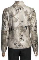 True Grit Embossed Vintage Rose Jacket - Full Zip (For Women)