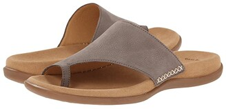 Gabor 0.3700 (Fumo Nubuck Lavato) Women's Sandals