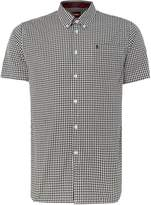 Merc Men's Terry Gingham Classic Collar Shirt