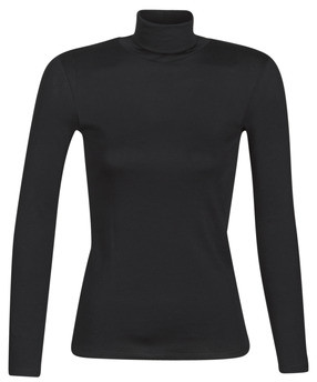 Benetton 3GA2E2224 women's Long Sleeve T-shirt in Black