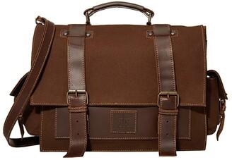 STS Ranchwear The Foreman Portfolio (Chocolate) Handbags