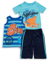 Nannette Boys 2-7 Finding Dory Tee, Tank and Shorts Set