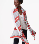 LOFT Spiced Striped Scarf