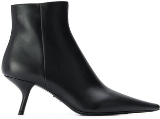 Prada Pointed Toe Boots